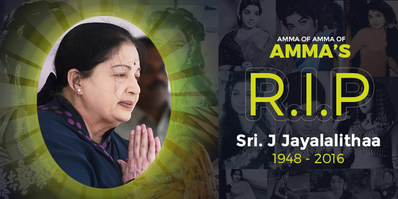 Tamil Nadu Laments The Death of Amma!