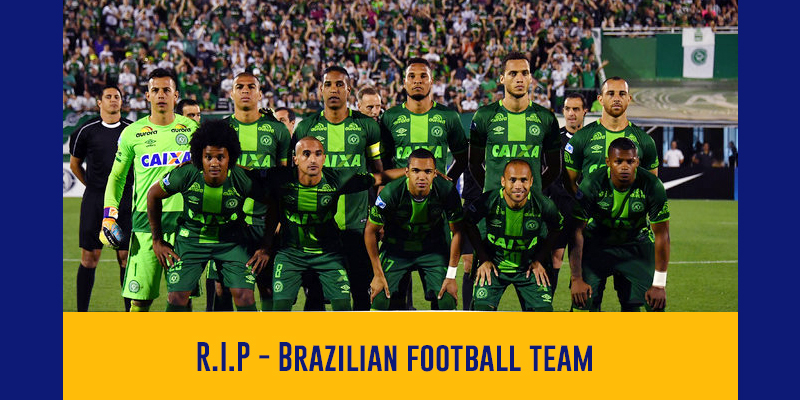 Brazilian Soccer Team Dies in a Plane Crash in Columbia
