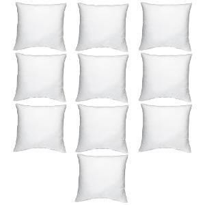 Homeshop18 brings JBG Home Store Polycotton Cushion Filler - Set Of 10 from Rs.404 only. Get this festive season a new look... by choosing from great ...